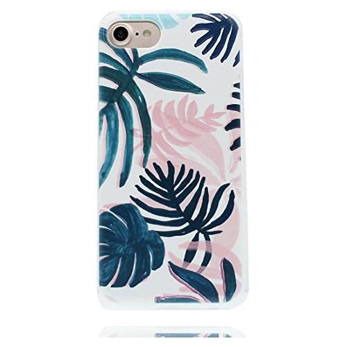 iPhone 7 Plus Custodia, iPhone 7 Plus Copertura Crystal Case gel trasparente [Slim-Fit] [Anti-Scratch] [assorbimento di scossa] iPhone 7 Plus Copertura 5.5 ( cactus) # 8