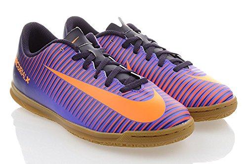Nike 831953-585, Botas de fútbol Unisex Adulto, Morado (Purple Dynasty/Bright Citrus-Hyper Grape), 38.5 EU
