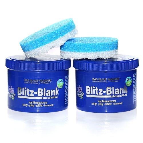 Das blaue Wunder - Blitz-Blank Putzstein Tropische Früchte 2x 400 g