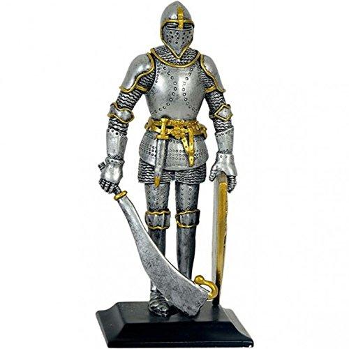 MC Deko Ritter Rüstung mit Schild und Breitschwert # Mittelalter
