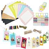 REKYO Wall Deco Papier Bricolage Cadre Photo, Photo Display (5)
