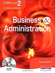 S/NVQ Level 2 Business and Administration Student Book (S/NVQ Business & Administration)