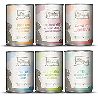 MjAMjAM Mixpaket III Wild & Kaninchen, Pute, Ente & Geflügel, Herzen, Huhn, Rind, 1er Pack (1 x 2.4 kg)