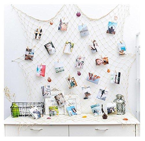 fischernetz deko mediterranen stil fischerei dekorative mit farbigen muscheln netze hintergrund. Black Bedroom Furniture Sets. Home Design Ideas