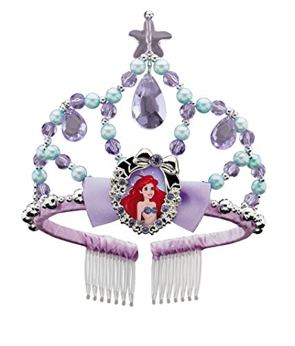 Disguise Ariel Classic Disney Princess The Little Mermaid Tiara, One Size Child, One Color by ()