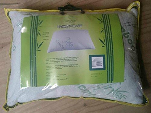 PL - Almohada antialérgica de bambú triturado de Espuma de Memoria de Apoyo  Premium 45 cm c261a8f611f