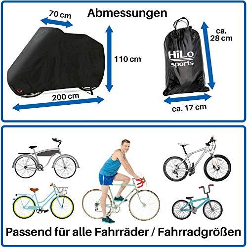 HiLo sports premium Fahrradabdeckung - 3