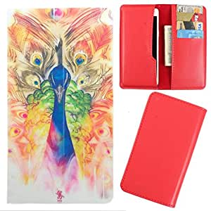 DooDa - For Lenovo A680 PU Leather Designer Fashionable Fancy Case Cover Pouch With Card & Cash Slots & Smooth Inner Velvet