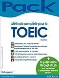 Méthode complète pour le TOEIC® + MyEnglishLab : livre + plateforme de préparation en ligne pour un entraînement personnalisé...