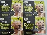 800sacchetti per deiezioni canine (4confezioni da 200)