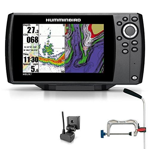 Humminbird Helix 7 Sonar GPS Echolot Seekartenplotter Combo Portabel Profi