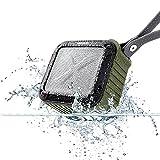 allimity Portable Bluetooth Lautsprecher, IPX6 Wasserdicht mit 12 Stunden Play & 33FT Range-3.5mm Audio Kabel, Kompatibel mit allen Bluetooth Ger?ten