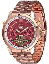 Lindberg & Sons Reloj Automático piraeus Acero/rosa/Rose Oro Colores