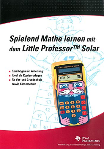 Spielend Mathe lernen mit dem Little Professor Solar - Spielbögen - Kopiervorlagen - Grundschule