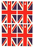 Set of Four British Flag Air Fresheners, Vertical, Bayberry by Eclectic Lady
