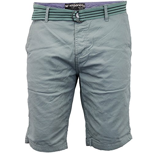 Hommes Chino Shorts By Threadbare Bleu Canard - chimpanzé
