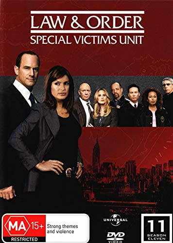 Law and Order SVU Season 11 (Special Victims Unit) English Cover Region 2 (Svu Dvd)