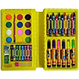 Shararat Kids 42 Pieces Jumbo Art Set Color Set 5 Years+, 42 Piece Art Kit For Kids For Party / Birthday Party / Theme Party / Return Gift (Pack Of 1.)