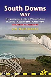 South Downs Way: Trailblazer British Walking Guide: Practical Guide to Walking the Whole Path, with 60 Large-Scale Maps, Guides to 49 Towns & ... Stay, Places to Eat (British Walking Guides)
