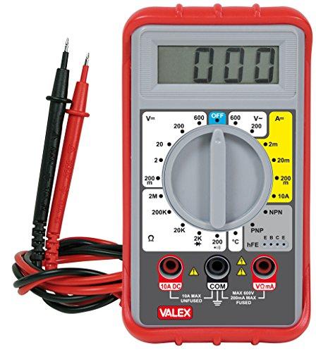 Valex 1800161.0Tester Digital P4500, Xenon Lcd-xenon