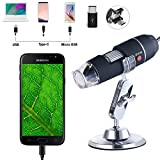 USB Digital Microscope, Bysameyee Handheld 40X-1000X Magnification Endoscope - Best Reviews Guide
