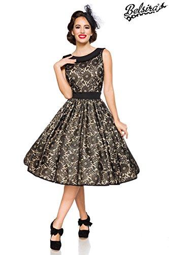 Belsira Damen Vintage-Spitzenkleid im Retro Look M - 2