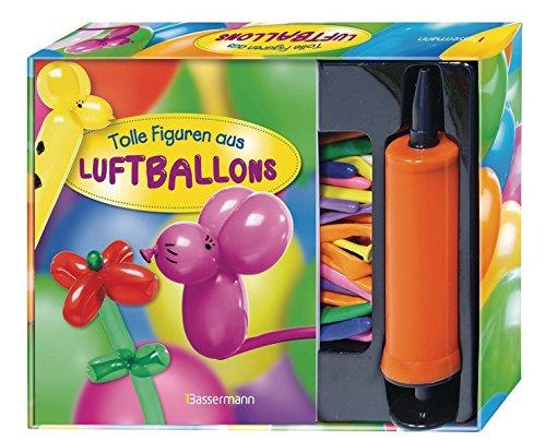 ftballons-Set: Buch mit 30 Modellierballons und Pumpe zum Aufblasen ()