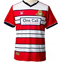 Doncaster Rovers FC Men's Home Football Shirt 2016-2017