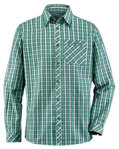 VAUDE men's heimer chemise à manches longues pour homme Vert - Vert sauterelle