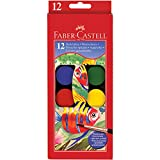 Faber-Castell - Tuschkasten - 12 Wasserfarben