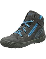 Superfit TENSY WINTER 700106, Mädchen Hohe Sneakers, Blau (OCEAN KOMBI 81)