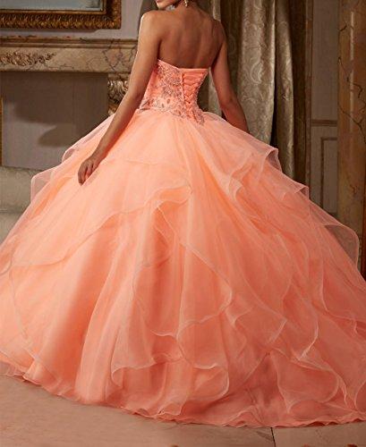 Bridal_Mall - Robe de mariage - Trapèze - Sans Manche - Femme Turquoise