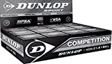 "3x Dunlop Squash Balls ""Competition"" yellow"