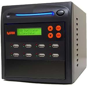 Systor 1 to 7 Multiple USB Thumb Drive Duplicator / Flash USB Memory Card Copier
