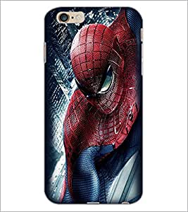 PrintDhaba Spiderman D-2297 Back Case Cover for APPLE IPHONE 6S PLUS (Multi-Coloured)