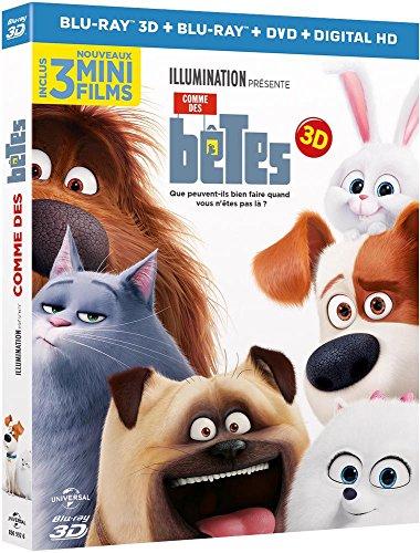 Comme des bêtes [Combo Blu-ray 3D + Blu-ray + DVD + Copie digitale]