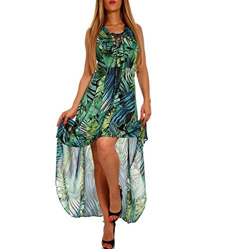 Damen Kleid Tanzkleid Sommerkleid 34 36 XS Neu Strand Maxikleid braun Salsa