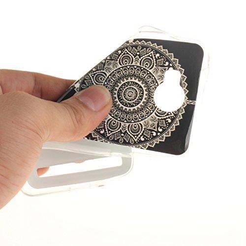 Guran® TPU Silikon Hülle für Apple iPhone 7 (4,7 Zoll) Smartphone Gemalt Schutzhülle Cover-Windspiele color a24