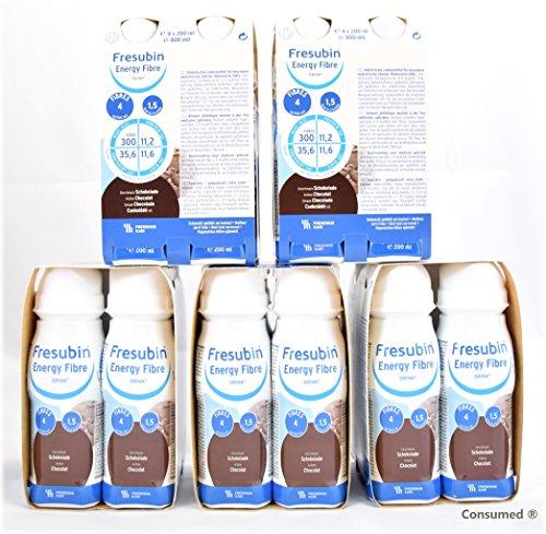 20x 200ml Fresubin Energy Fibre DRINK Schokolade - im exclusiven ConsuMed Bundle