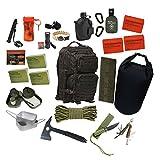 72h Fluchtrucksack Prepper Rucksack Krisenvorsorge Krise Not Überlebensrucksack Bug Out Bag Get Home Bag Flucht Survival Apocalypse 2 #17647