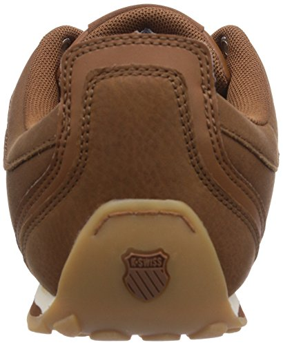 K-Swiss ARVEE 1.5, Sneakers basses homme Marron - Braun (COWBOY/NUTMEG/ANTQ WHITE 231)