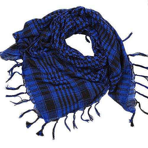 YULAND Damen Schal Bandana Halstuch Kopftuch, Accessoires Tücher Schals 1 STÜCK Unisex Mode Frauen Männer Arabischen Shemagh Keffiyeh Palästina Schal Schal Wrap