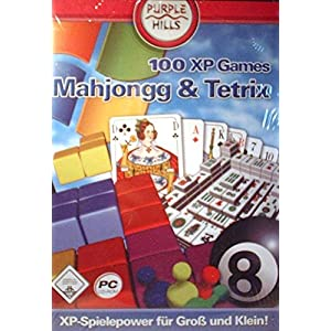 100 XP Games Mahjongg & Tetrix