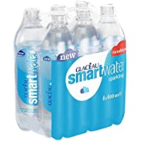 Glaceau Smartwater Sparkling, 6 x 600 ml