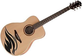 meSleep Flame Guitar Sticker