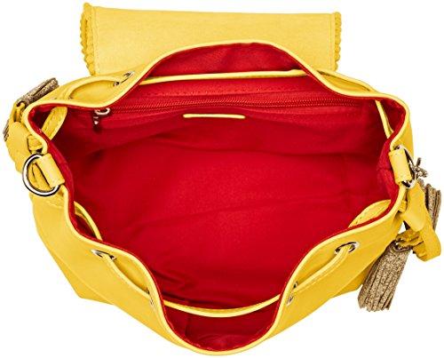 Lollipops Damen Beam Shoulder Schultertasche, 14x23x30 centimeters Gelb (Yellow)