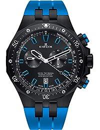 1a498685cdf2 Edox Delfin The Original Reloj de Hombre Cuarzo 43mm de Goma 10109 37NBUCA  NIBU