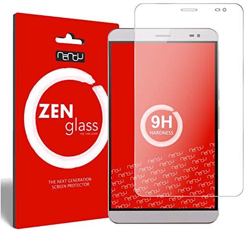 nandu I ZenGlass Flexible Glas-Folie für Huawei MediaPad X1 / X2 7.0 Panzerfolie I Bildschirm-Schutzfolie 9H