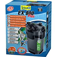 Tetra Aquarien Außenfilter EX 800 Plus (leistungstarker Filter für Aquarien von 100-300 L, Komplettset mit Ansaughilfe zum Schnellstart und Filtermedien)