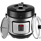 COSORI 7-in-1 Electric Pressure Cooker, 6 Litre/1000W, Programmable Multifunctional Rice Cooker, Slow Cooker